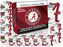 2009 Alabama Football DVD Collection