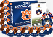 Auburn 2010 Football DVD Collection with BCS Game