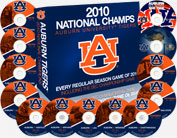 Auburn 2010 Football DVD Collection